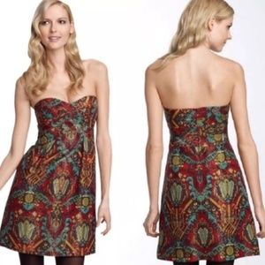 Nanette Lepore Karma Dress In Crimson Sz12